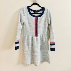 THML | sweater fit flare dress • M